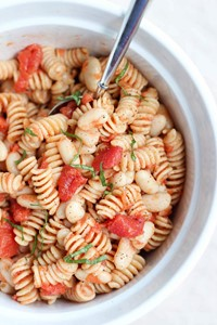 Cannellini Bean Pasta Salad